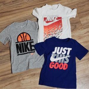 Boys Nike tee lot